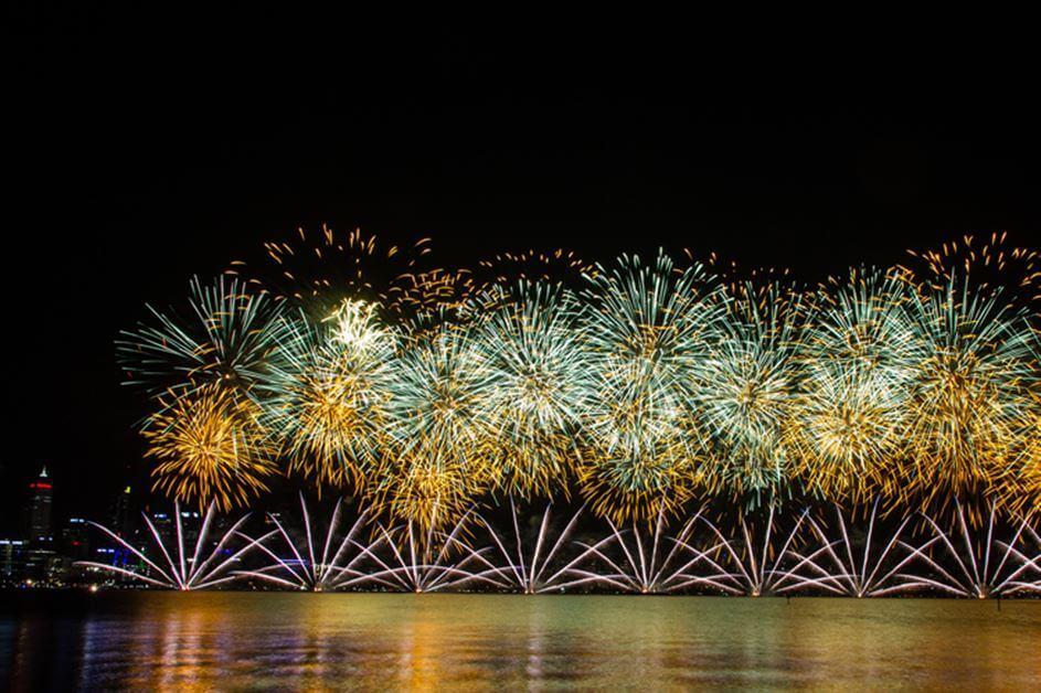 Nova godina vatromet