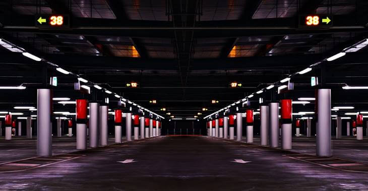 Garaža sa osvetljenjem