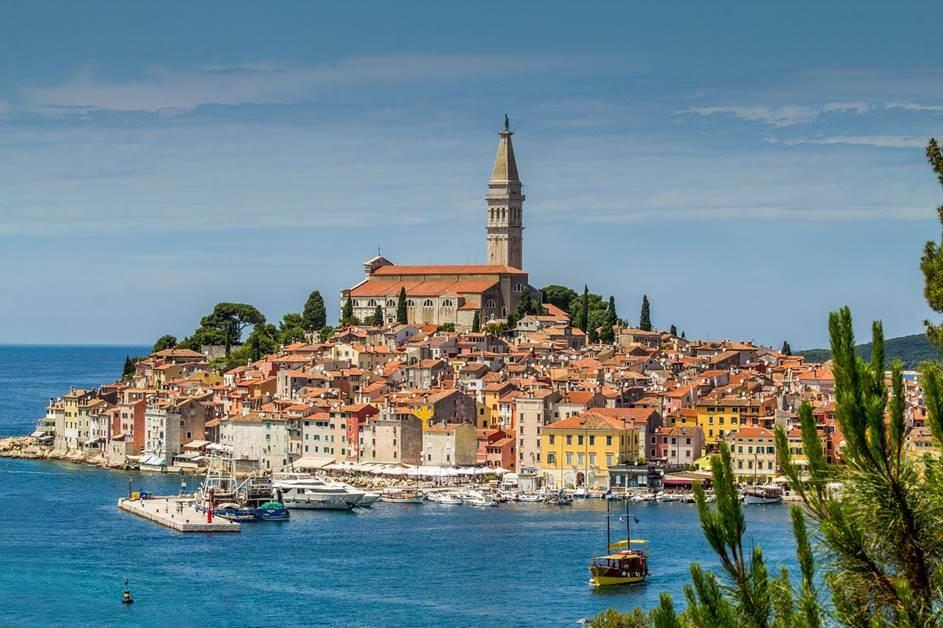 Grad Rovinj u Hrvatskoj
