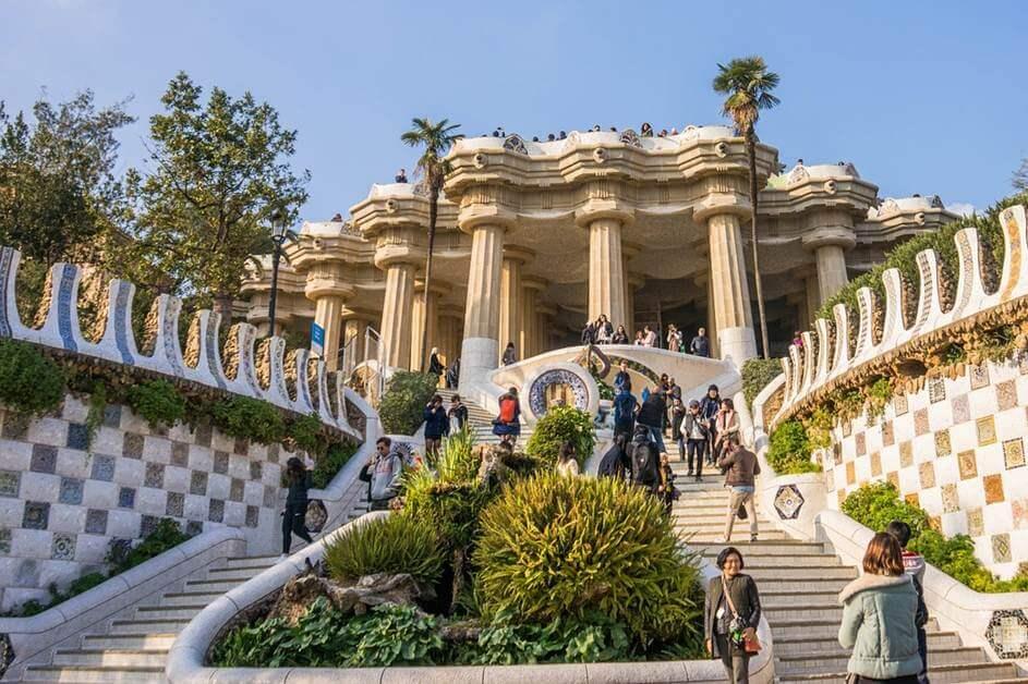 Park Guelj u Španiji