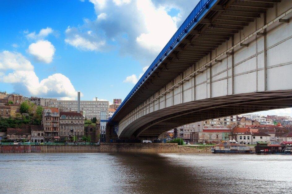Beograd, pogled sa reke
