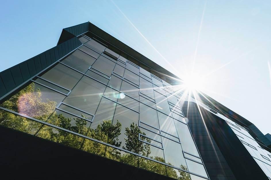 Zgrada u biofilic stilu