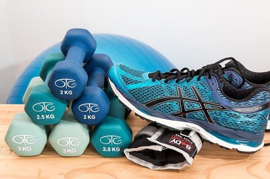 Patike, tegovi, oprema za vežbanje